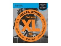 Jogo de cordas .010 D´Addario EXL110-7 10-59