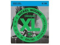 D´Addario EXL130  8-38  Jogo Cordas Guitarra Eléctrica Daddario EXL130