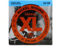 Jogo de cordas para Guitarra Elétrica D´Addario  EXL140
