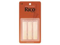 D´Addario Woodwinds Rico Alto Sax 1.5 3-Pack