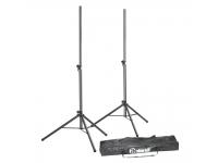 Adam Hall SPS 023 SET B-Stock  Stand de alto-falante 2 suportes de alto-falante com saco