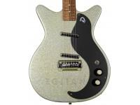 Guitarra Elétrica Danelectro 59M NOS+ Silver MetalFlake 60th anniversary