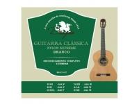 Conjunto de cordas para guitarra clássica Dragão Nylon Supreme Branco