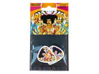 Dunlop Jimi Hendrix Bold as Love Pack 6 Picks