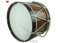 Bombo Egitana Bombo tradicional nº2 (30cm) Castanho