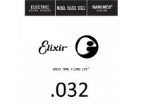Corda para guitarra elétrica Elixir .032 Electric guitar
