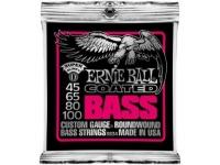 Ernie Ball 3834 Coated Bass Super 45-100  As cordas de Ernie Ball têm sido a primeira escolha para jogadores de todos os tipos desde o início da década de 1960, quando os guitarristas entraram na loja de música de Ernie Ball, personalizando seus medidores de corda para tornar seus eixos mais fáceis de tocar. Depois de tentativas infrutíferas de interessar os principais fabricantes de guitarra em um conjunto mais leve de cordas, Ernie Ball decidiu começar a fazer o seu próprio. Quando você abre um pacote de suas cordas hoje, sabe que está obtendo um conjunto de cordas de qualidade projetado para oferecer um ótimo tom, desempenho confiável e longa vida útil. Você não pode dar errado quando você amarra as cordas de Ernie Ball!