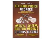 Método para aprendizagem Eurico A. Cebolo Guitarra Mágica Acordes  Método de aprendizaje Eurico A. Cebolo, acordes de guitarra mágica  - Idiomas francés, portugués, inglés  - 32 páginas  - Instrumento de guitarra  - Autor Eurico A. Cebolo