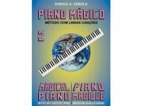 Método para aprendizagem Eurico A. Cebolo Piano Mágico 2
