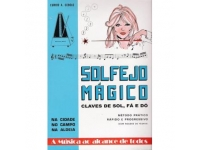 Livro de canções Eurico A. Cebolo Solfejo Magico