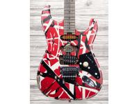 EVH Striped Frankie, Red/White/Black