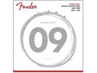 Fender 250L .009-.042  Cordas de guitarra elétrica  Tamanho: 009 - 042  Aço niquelado