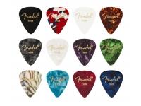 Fender 351 Shape Celluloid Medley Thin 12 Pack