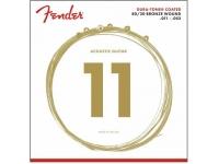 Fender 880CL Dura-Tone Coated 80/20 Bronze 11-52
