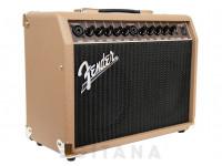 """Amplificador Guitarra Acústica Fender Acoustasonic 40   Potência: 40W;  Speakers: Desenho especial com 2x 6,5"""" full-range com cones whizzer;  Entradas: 2x Combo XLR/JAck 6.35mm (1/4"""");"""