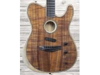 Acústica / Guitarra elétrica Fender American Acoustasonic Tele Koa