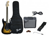 Guitarra tipo ST  Fender Affinity Strat Pack HSS Brown Sunburst B-Stock