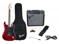Guitarra tipo ST  Fender Affinity Strat Pack HSS Candy Apple Red B-Stock