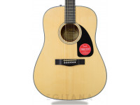 Fender CD-60 Dreadnought V3 w/Case Natural
