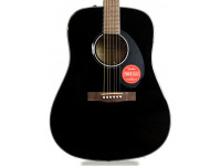 Fender CD-60S Dreadnought WN Black
