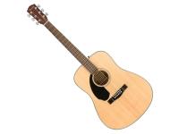 Fender CD-60S Nat B-Stock   Fender CD-60S , guitarra de aço Folk, design clássico drednought, corpo top solido, mogno nos lados, braço em mogno, fretboard de rosewood, 20 trastes