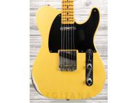 Guitarra elétrica Fender Custom Shop 70th Anniversary Relic Broadcaster, Aged Blonde