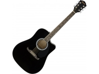 Fender FA-125CE BLK  Guitarra Eletroacústica Dreadnought Fender FA-125CE Black