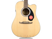 Guitarra acústica dreadnought Fender FA-125CE NAT  Fender FA-125CE Guitarra electroacústica Dreadnought natural