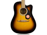 Fender FA-125CE Sunburst   Guitarra Eletroacústica Dreadnought Fender FA-125CE Sunburst