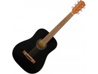 Fender  FA-15 3/4 WN Black