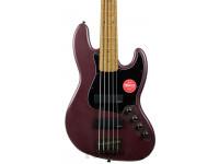 Fender   FSR Squier Jazz Bass Contemporary Active HH Burgundy Satin