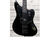 Baixo Elétrico de 4 cordas Fender Jaguar Bass EB Black