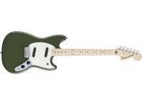 Guitarra elétrica Fender Mustang Olive