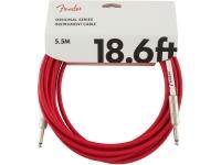 Cabo de instrumento Fender Original Cable FR Jack 5.5m