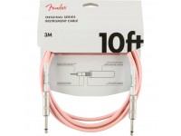 Fender Original Series Instrument Cable Shell Pink Jack 3m