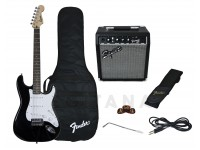 Pack de guitarra Fender Pack Guitarra Strat BK GB 10G