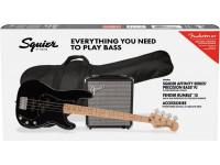 Fender Squier Affinity Series Precision Bass PJ Pack MN Black