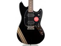 Fender  Squier FSR Bullet Competition Mustang HH LRL BPG Black