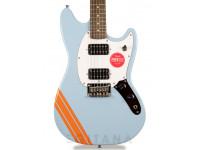Fender  Squier FSR Bullet Competition Mustang HH LRL WPG Daphne Blue