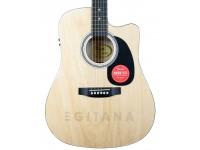 Guitarra Dreadnought Fender Squier SA-105CE Natural