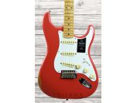Fender Vintera Stratocaster 50s Road Worn MN Fiesta Red