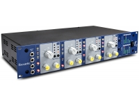 Focusrite ISA 428 MKII   Focusrite ISA 428 MKII   4 pré amps. microfone    Conversor A/D opcional 8 ch    Filtro hp variável por canal    Pontos insert analog. dedic.    4 inst. input painel frontal
