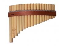 Flauta Panpipe Gewa Panpipes C-Major 18 Pipes
