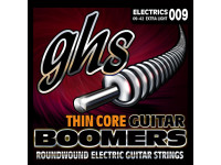 GHS  Boomers Thin Core Nickel Plated 9-42 Extra Light