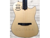 Godin Multiac Nylon SA NT HG Natural com Brilho