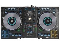 Hercules DJ DJ Control Jogvision   O DJControl Jogvision é o primeiro controlador de Hercules DJ a apresentar um mostrador no centro de cada jog wheel, indicando simultaneamente a velocidade de reprodução e a posição na faixa num piscar de olhos. Esses monitores permitem que os DJs passem menos tempo olhando para a tela do computador, para foco aprimorado, capacidade de resposta mais rápida e melhor sincronização de faixa - prestando mais atenção à música e ao público em vez disso.