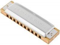 Harmónica diatónica  Hohner Blues Harp MS C  Harmónica diatónica Hohner Blues Harp MS D - Pente de madeira - Canas de bronze - Nota Dó