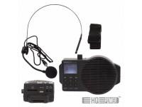 Sistema de PA Portátil c/ MIC Headset HQ Power Sistema Pa Portátil 5W USB/SD/FM/Bat C/ Mic