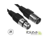 Ibiza  3p Macho / Xlr 3p Fêmea 20m