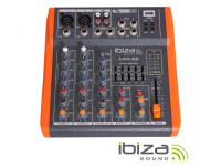 Ibiza  Mesa de Mistura MX801 Black Orange